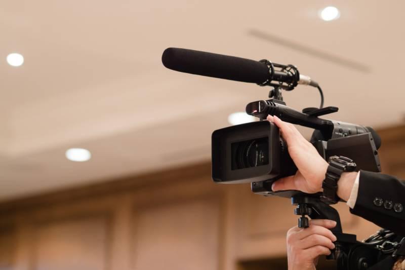 写真:ビデオカメラ